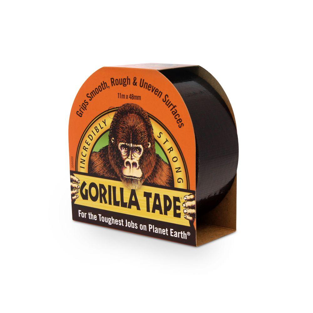 GORILLA BLACK DUCT TAPE 48X11m