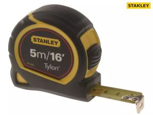 STANLEY TYLON TAPE MEASURE  5M/16FT