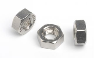 HEXAGON FULL NUT - A2 STAINLESS STEEL M 3