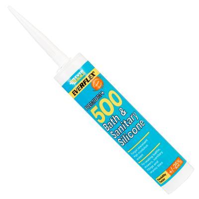 SILICONE SEALANT - 500 BATH & SANITARY C3 MANHATTAN GREY