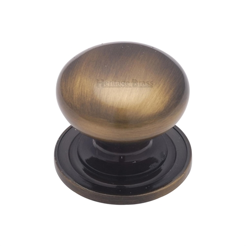 CABINET PULL 38MM ANTIQUE BRASS