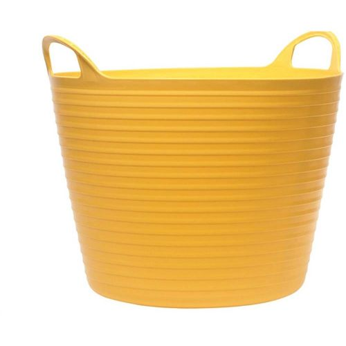GORILLA TYPE FLEXI TUB 42L YELLOW