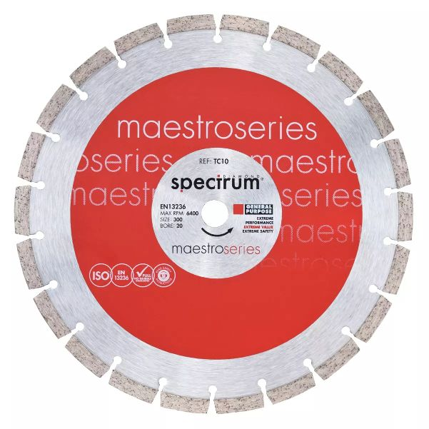 SPECTRUM DIAMOND BLADE 300MM - TEC10