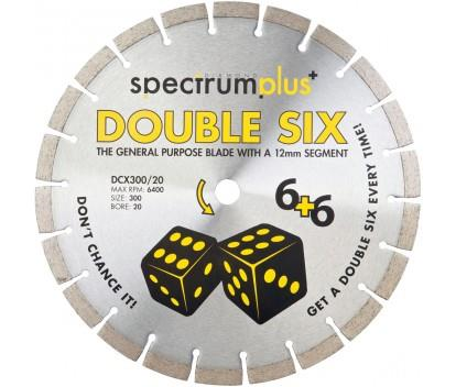 OX SPECTRUM DIAMOND BLADE - GENERAL PURPOSE DCX DOUBLE SIX 300 X 20MM