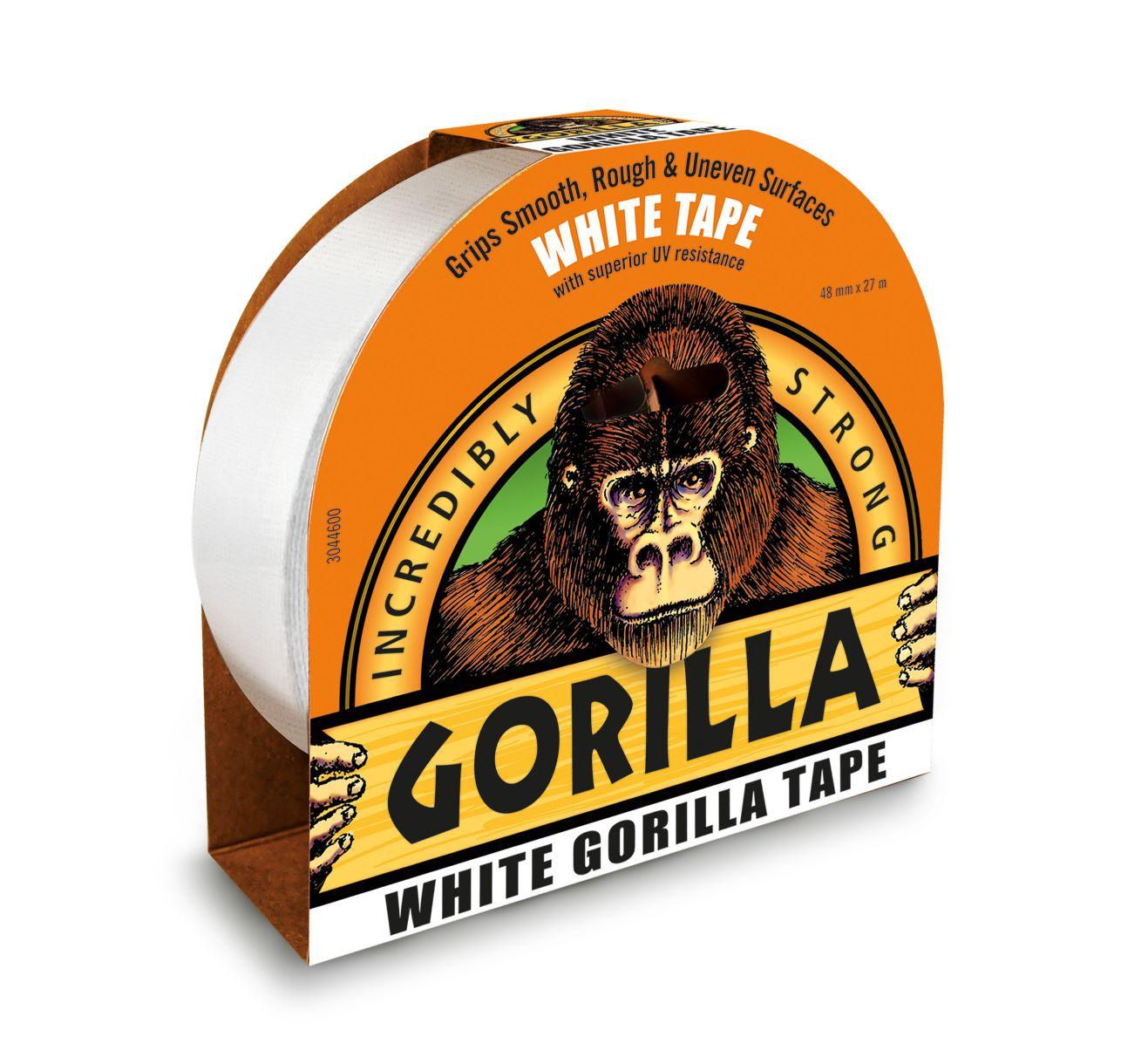 GORILLA WHITE DUCT TAPE 48 X 27M