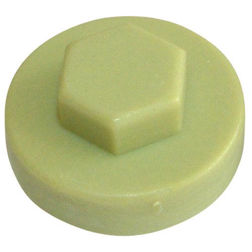 COLOUR CAP 16MM OLIVE GREEN HC16