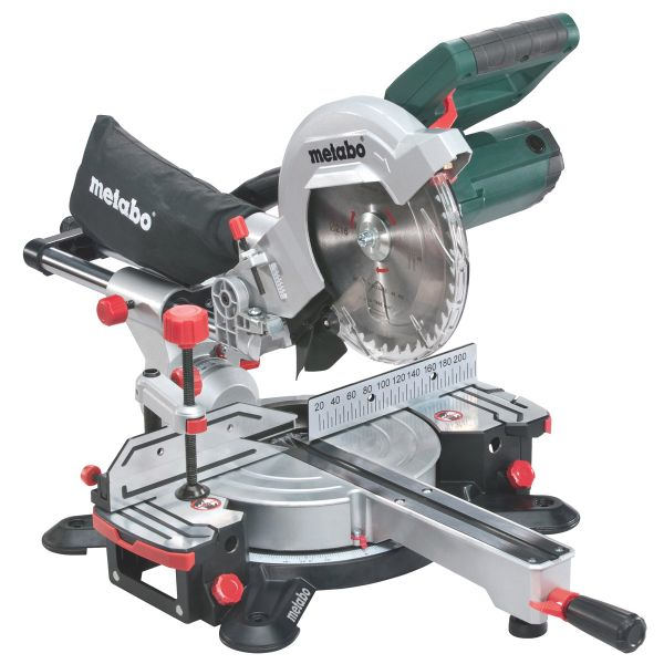 METABO KGS 216 M SLIDING MITRE SAW 240V 216MM