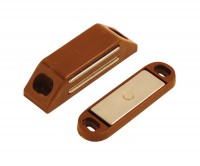 LARGE MAGNETIC CATCH  BROWN