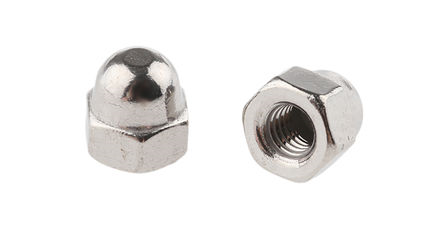 HEXAGON DOME NUT - A2 STAINLESS STEEL M 6