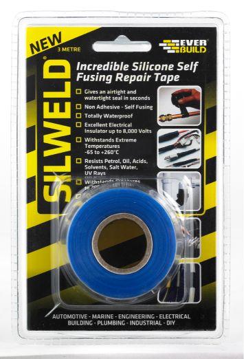 SILWELD TAPE 3MTR BLUE