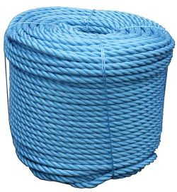 BLUE POLYPROPELENE ROPE  6MM X 220M