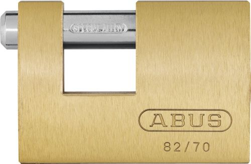 ABUS SHUTTER BRASS PADLOCK 82/70