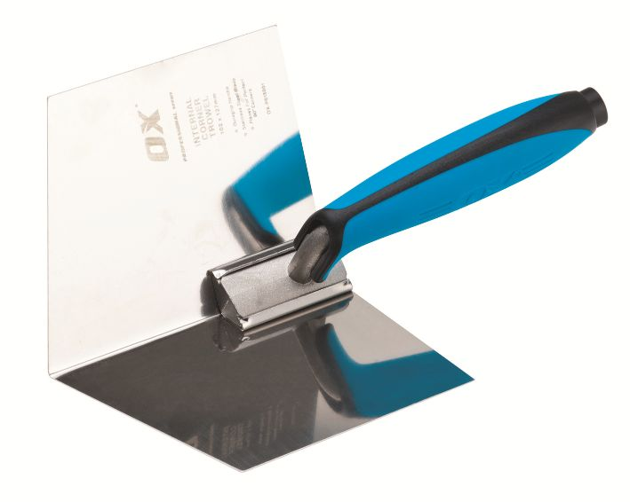 OX PRO DRY WALL INTERNAL CORNER TROWEL 120 X 127MM