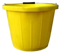 INDUSTRIAL BUCKET LIPPED 3 GALLON YELLOW