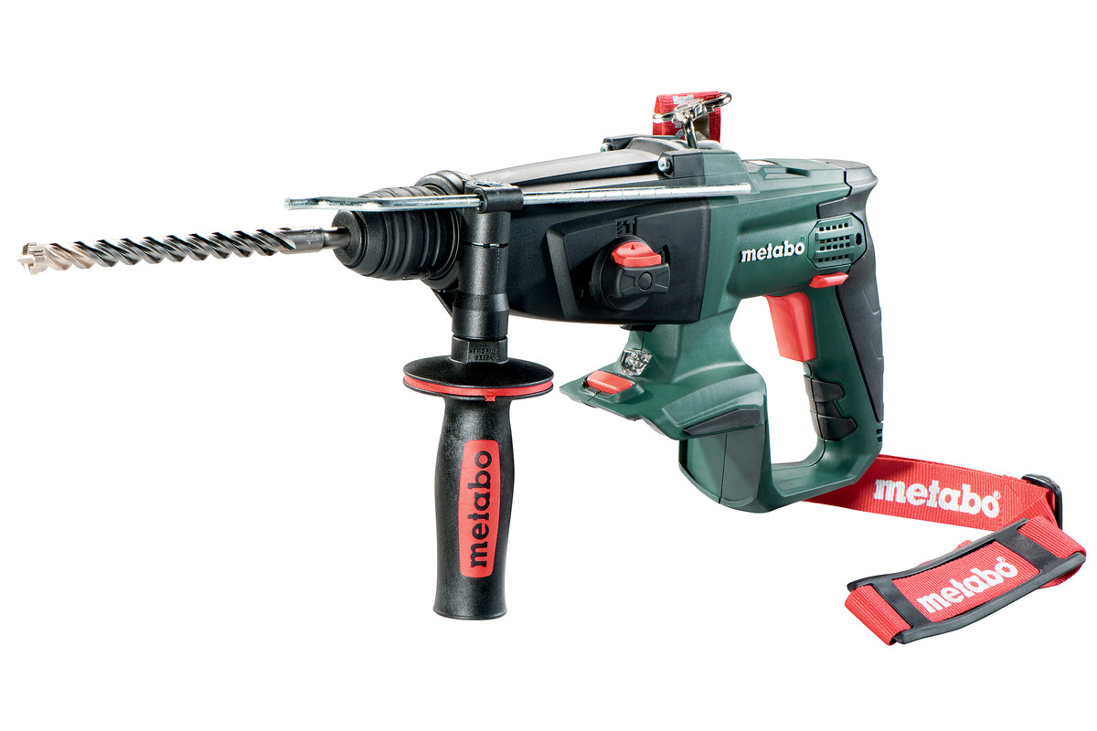 METABO KHA 18 LTX 18V SDS HAMMER DRILL KIT (WITH 2 X 4.0AH LIHD BATTERIES & CHARGER IN CARRY CASE)