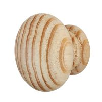 PINE CUPBOARD KNOB 50MM