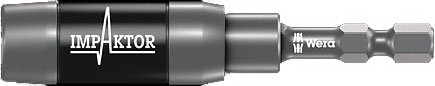 "SCREWDRIVER INSERT BIT HOLDER - WERA IMPAKTOR RING MANGETNIC RAPIDAPTOR - UNIVERSAL HEX 1/4"" (6.35MM)"