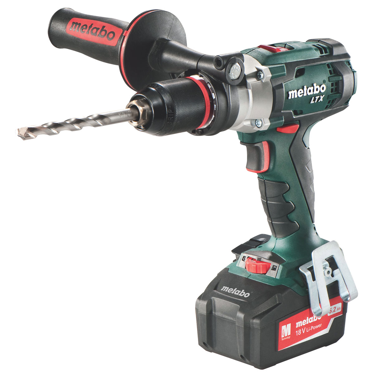 METABO 18V LTX BL COMBI DRILL KIT 2 X 5.2AH