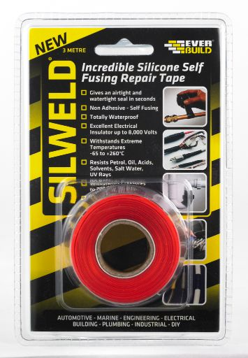 SILWELD TAPE 3MTR RED
