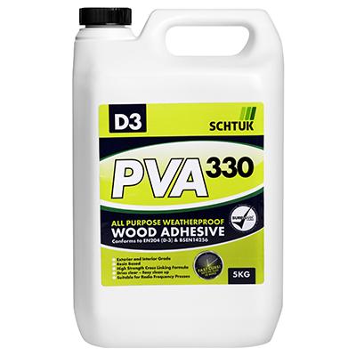 SCHTUK 330 PVA D3 WOOD ADHESIVE 5KG (5L)