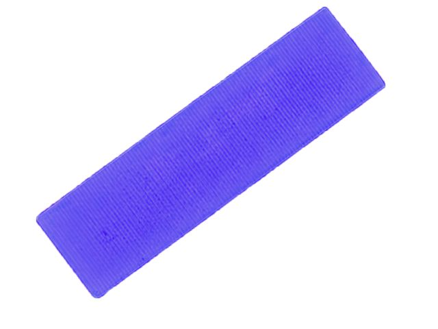 FLAT BATTEN PACKER 28 X 100 X 5MM (BLUE)