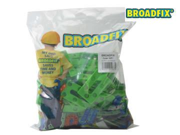 GREEN PLASTIC PRECISION WEDGE PACKER (BAG OF 100)