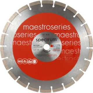 OX SPECTRUM MAESTRO SERIES GENERAL PURPOSE DIAMOND SEGMENT BLADE 115MM X 22.2MM