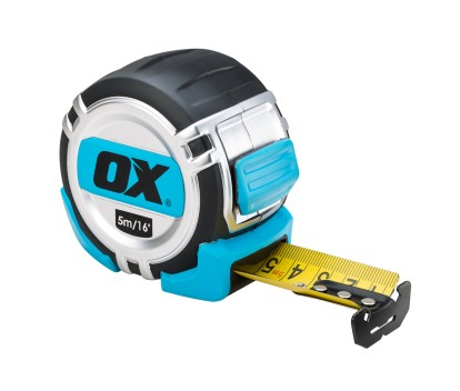 OX PRO HD TAPE MEASURE 5M/16FT