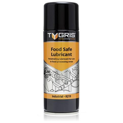 FOOD SAFE LUBRICANT 400ML TYGRIS R-219