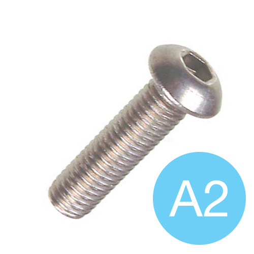SOCKET SCREW - A2 S/S BUTTON HEAD M 6 X 25