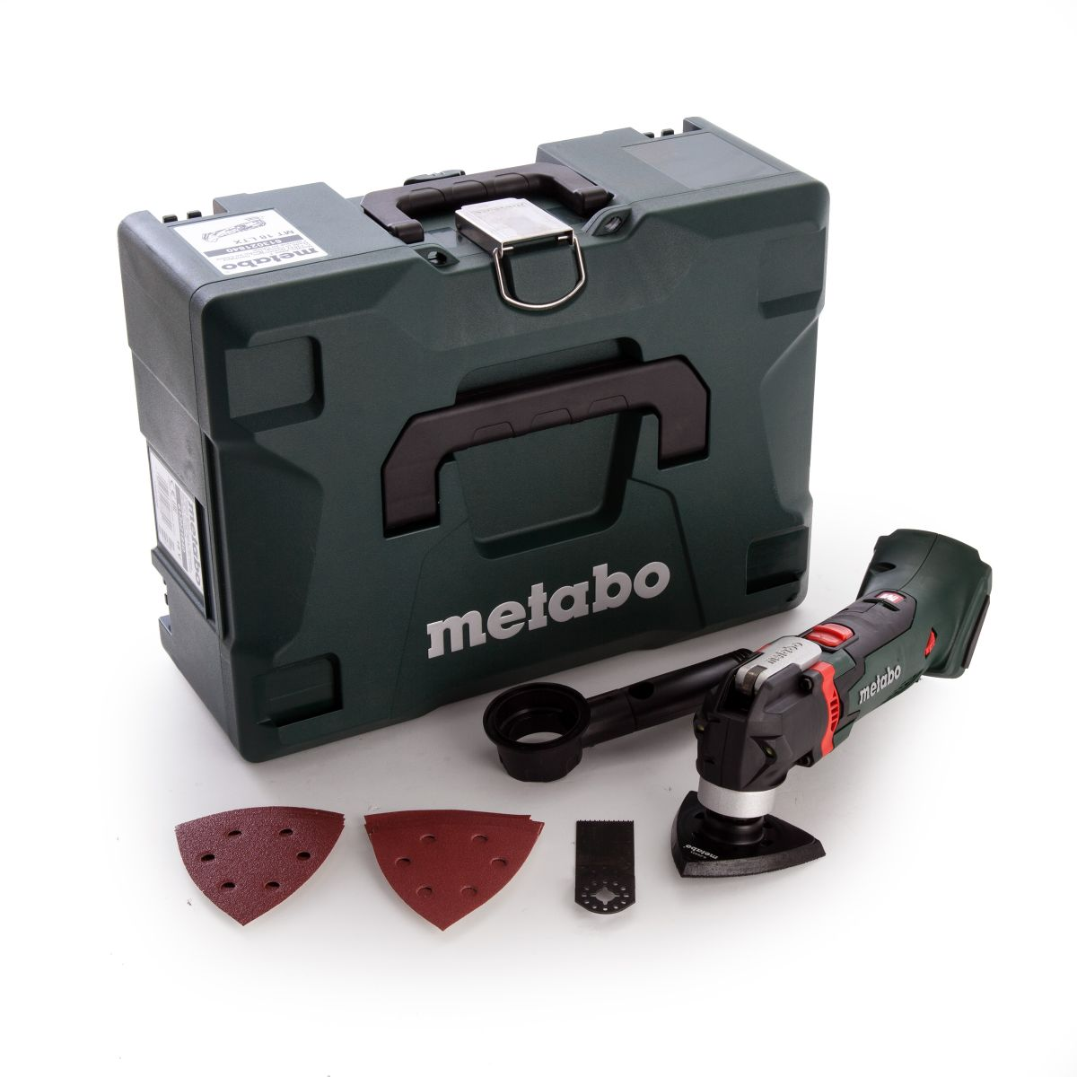 METABO CORDLESS MULTI-TOOL MT18LTX (BODY ONLY +  METALOC)