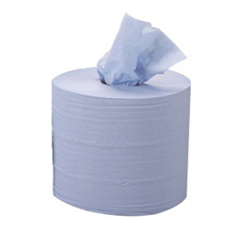 BLUE 2 PLY CENTREFEED ROLL
