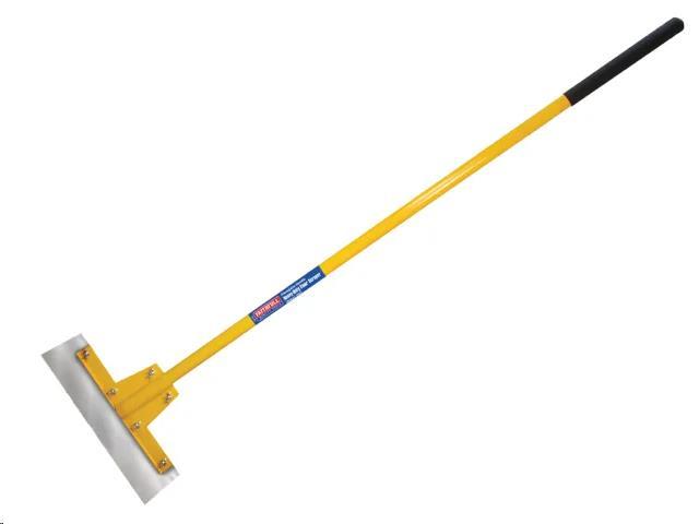 """HEAVY DUTY FIBREGLASS HANDLE FLOOR SCRAPER 400MM (16"""")"""