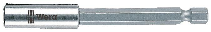 "MAGNETIC SCREWDRIVER INSERT BIT HOLDER - WERA EXTRA LONG 152MM - UNIVERSAL HEX 1/4"" (6.35MM)"