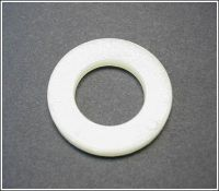 WASHER - NYLON FLAT M4