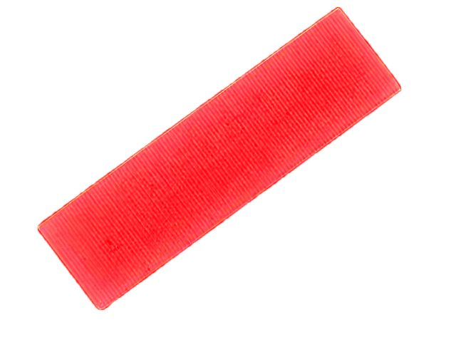 FLAT BATTEN PACKER 28 X 100 X 6MM (RED)