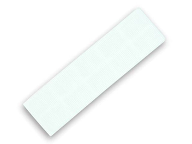 FLAT BATTEN PACKER 28 X 100 X 3MM (WHITE)