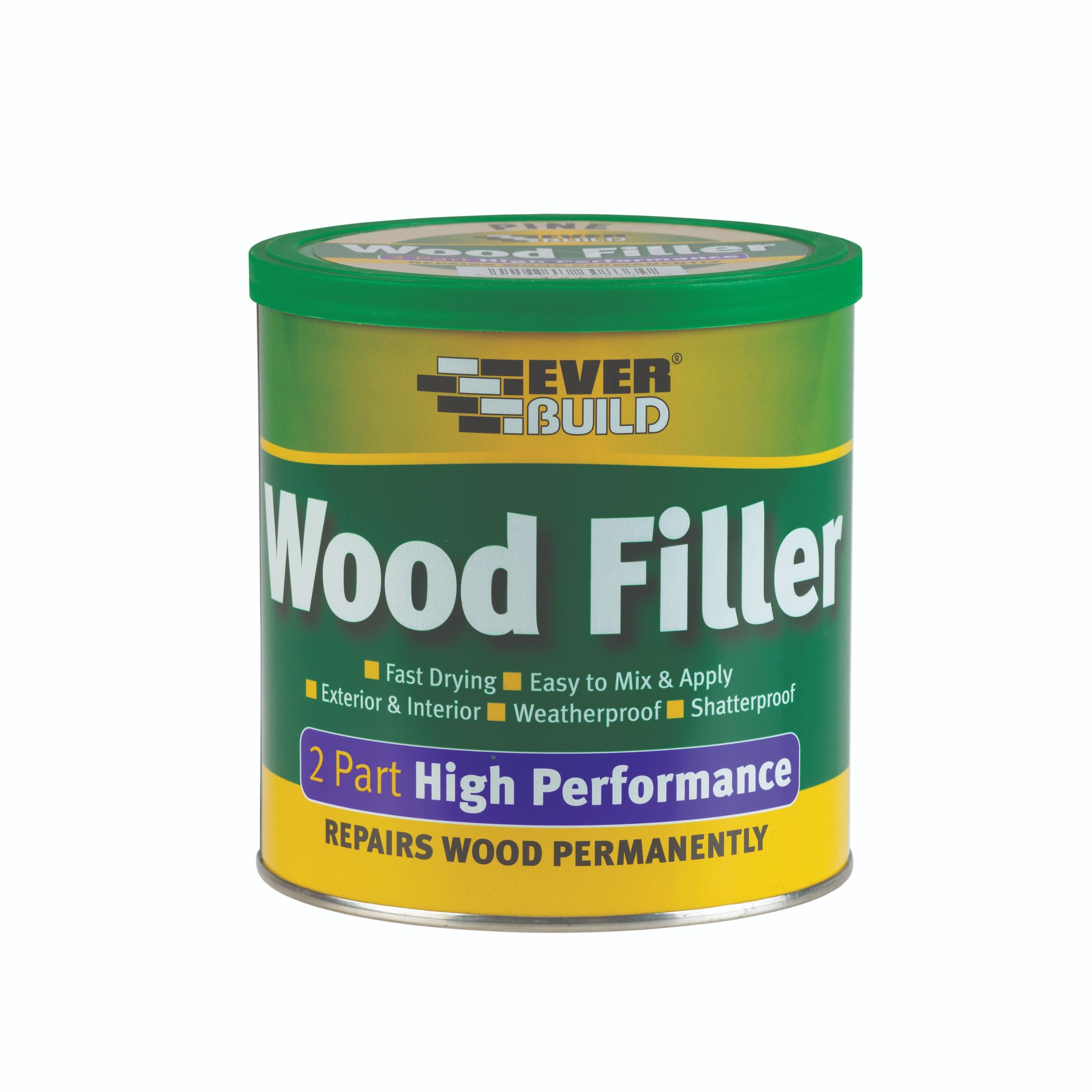 2-PART STAINABLE LIGHT WOODFILLER LARGE - 1.4KG