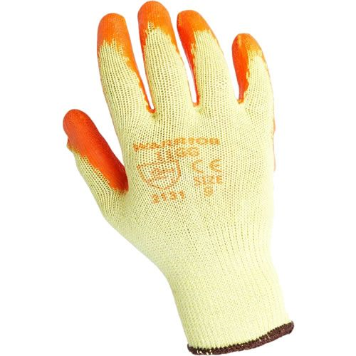 TRADE LATEX PALM GRIP GLOVES (SIZE 9 - L)