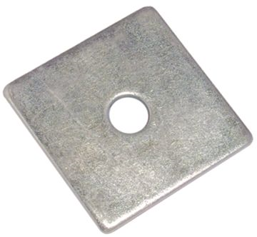 SQUARE PLATE WASHER - A2 STAINLESS STEEL M10 X 50 X 3.0MM