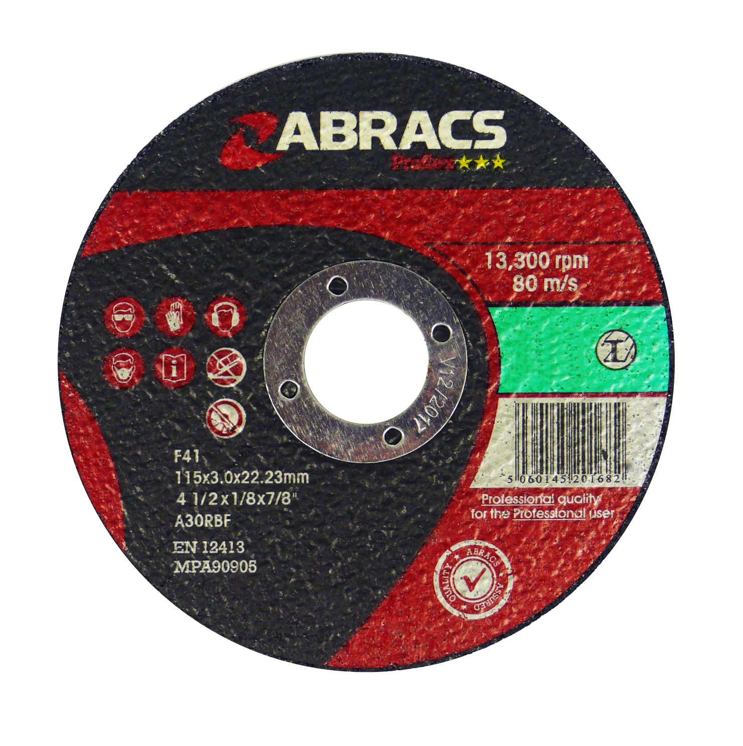 STONE CUTTING DISC - FLAT 125 X 3.0 X 22MM