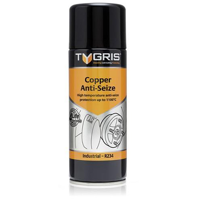 COPPER ANTI-SEIZE SPRAY 400ML TYGRIS R-234