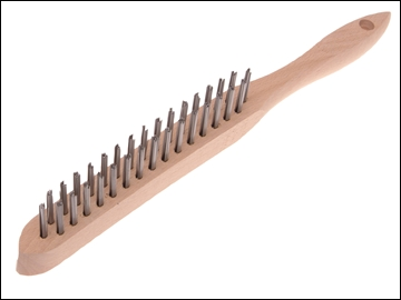 580/2 LIGHTWEIGHT SCRATCH BRUSH - 2 ROW