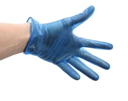 DISPOSABLE GLOVES SOFT VINYL LARGE