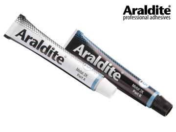 ARALDITE METAL/STEEL EPOXY ADHESIVE  (2 X 15ML TUBES)