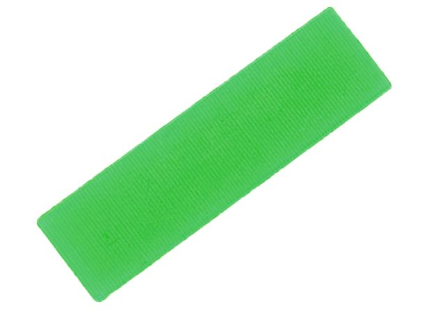 FLAT BATTEN PACKER 28 X 100 X 1MM (GREEN)