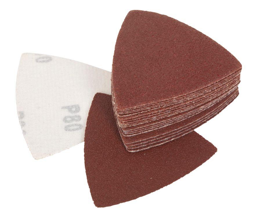 SMART MULTI-TOOL BLADE - TRIANGULAR SANDING PADS P80 PACK OF 50
