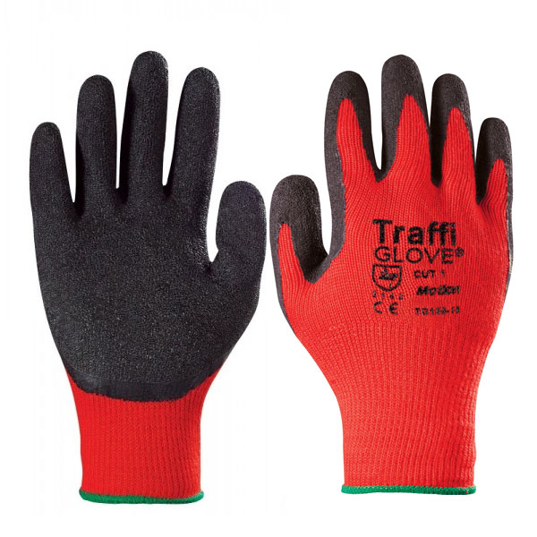 TRAFFIGLOVE MOTION CUT 1 MEDIUM WEIGHT HANDLING GLOVE X LARGE
