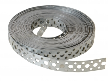 HEAVY DUTY FIXING BAND MULTI-HOLE PRE-GALVANISED 20 X 1.0MM (10M ROLL)