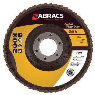 FLAP DISC ALUMINIUM OXIDE 115 X 22MM X  60G